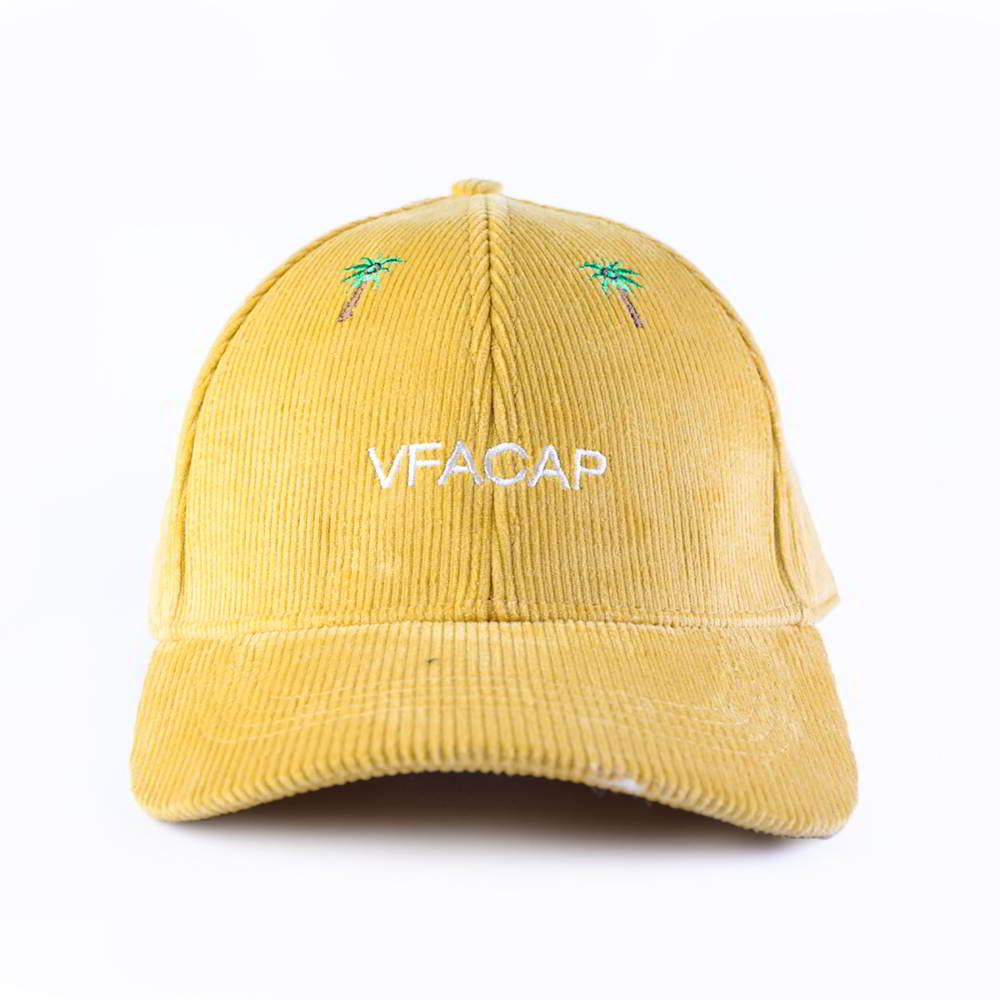 embroidery logo 6 panels sports corduroy baseball caps