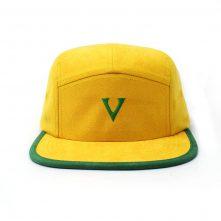 plain letters vfa logo 5 panels hats