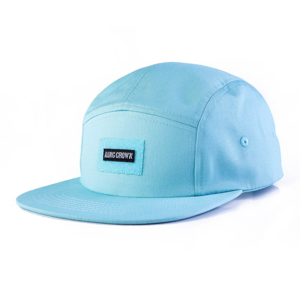 aungcrown patch blue snapback 5 panels hats
