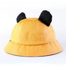 blank no logo children cute bucket hats