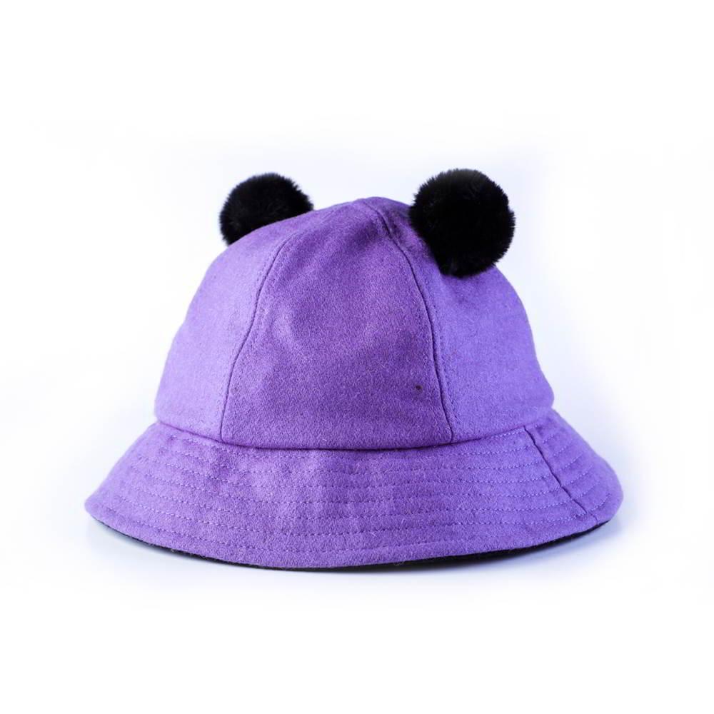 children winter cute blank bucket hats
