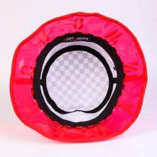 dsign logo big brim lattice fabric bucket