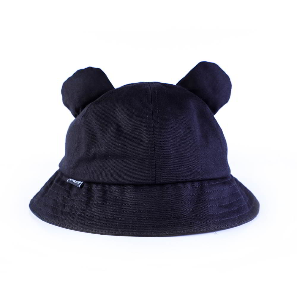 plain blank no logo cartoon children bucket hats