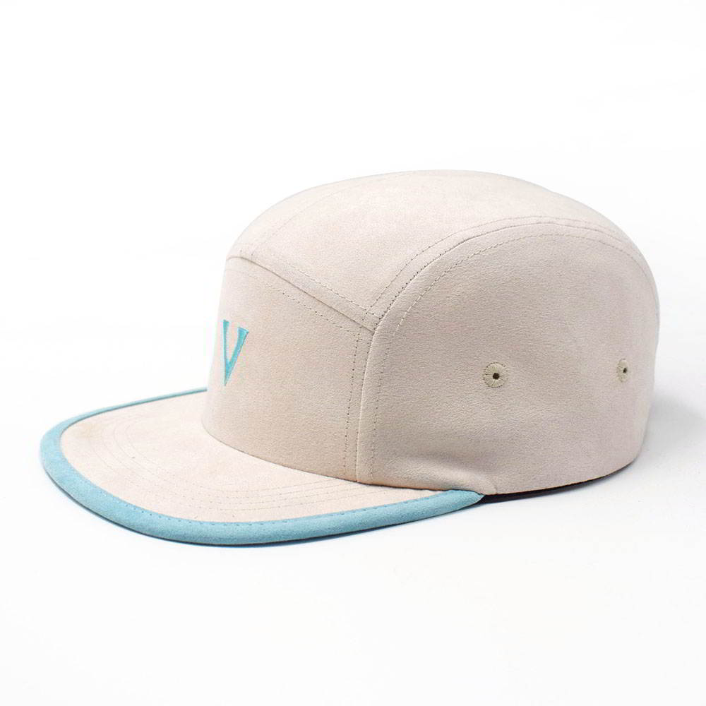 plain vfa embroidery 5 panels caps custom