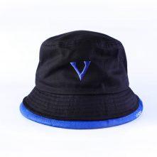 plain vfacaps logo two color bucket hats