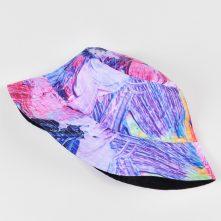 vfacaps embroidery logo reversible bucket hats