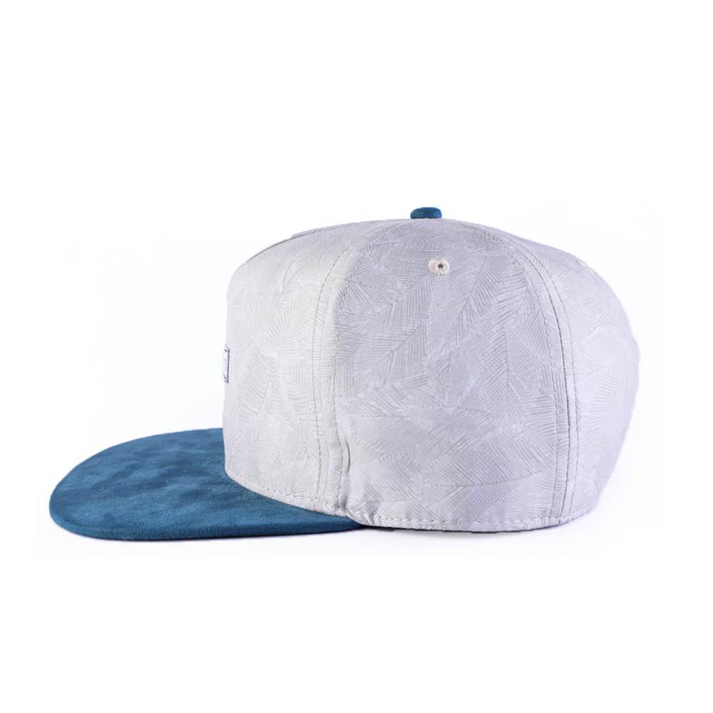 suede brim 5 panels snapback hats