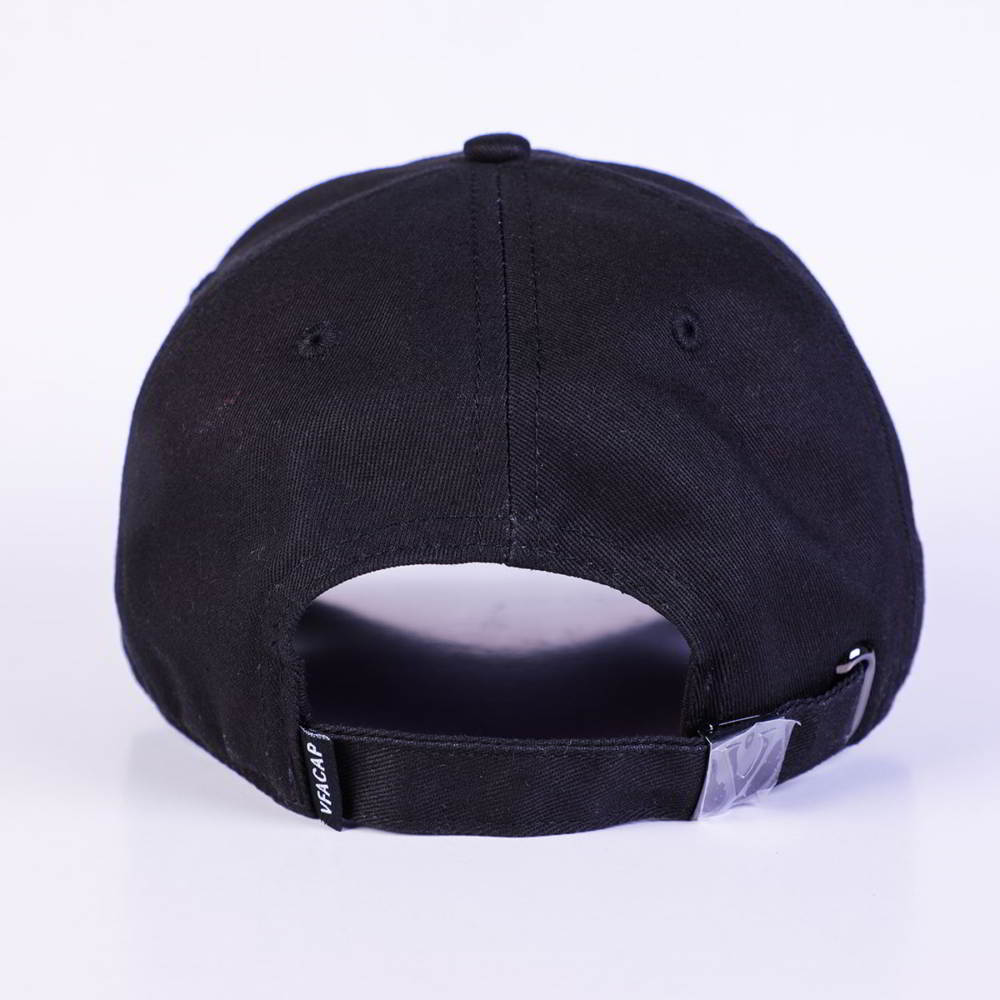 vfacaps embroidery logo black cotton baseball hats