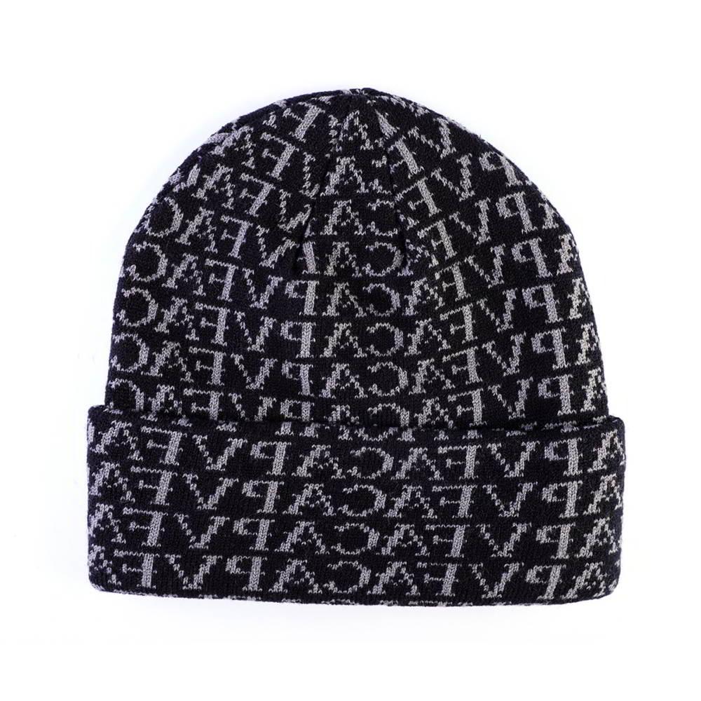 jacquard vfa logo plain winter caps beanies