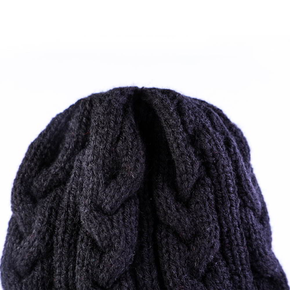 plain no logo blank winter cuffed beanies hats