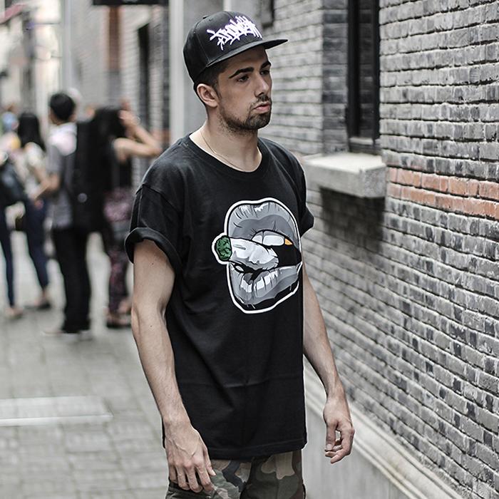 Custom The Best Plain Black T-Shirt for Men