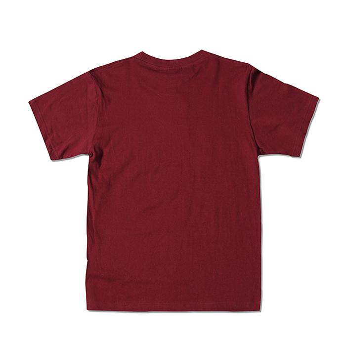 Street style cotton print letter logo men t shirt