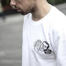 fashion design diy logo man t shirts for your brand