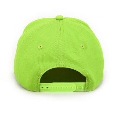 Cartoon pattern embroidery patch dad hat baseball cap 5 panels green.