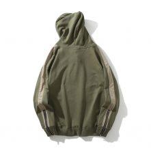 light green color warm hoodies for men-1