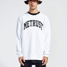 white basic long sleeve printed shirt for men-1