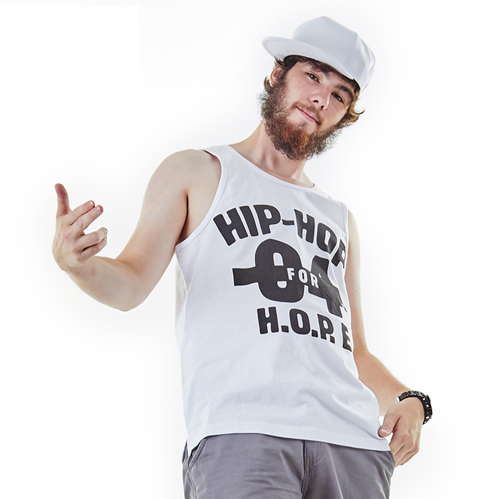 3D printed hip hop tank top for men-1