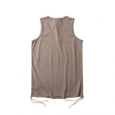 Lightweight women's ripped casual sleeveless tank tops -1