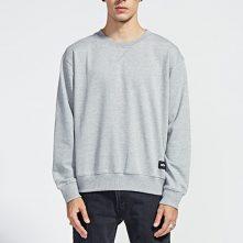 Classic blank white cotton men's loose hoodies-4