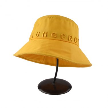 Aung Crown brand 3D embroidery sun bucket hats-4