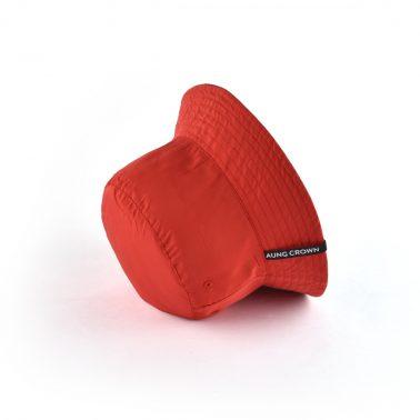 Aung Crown brand reversible double-side-wear sun bucket hats-1
