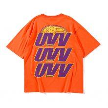 Summer's short sleeve letter print graphic t shirt. -2