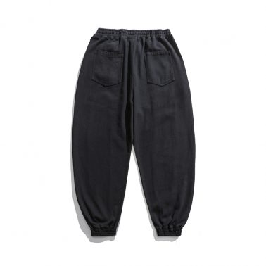 street style elastic waist fashion casual pants in summer-1
