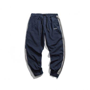 streetwear style cargo casual loose drawstring pants for men-1
