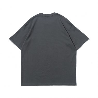 Men's simple crewneck ripped hole t shirt