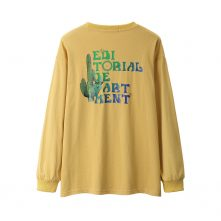 AungCrown street style pattern graphic printing cotton sweatshirt-3