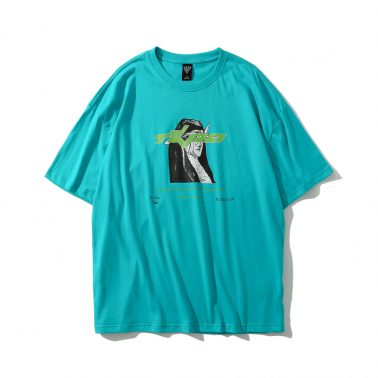 men's fashion crewneck casual summer t shirt -1