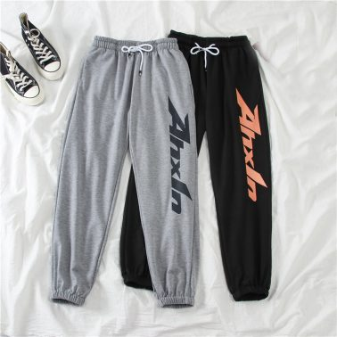 women's athletic running casual sweatpants with pockets-1