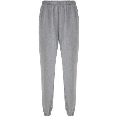 women's elastic waistband running sport pants with pockets.-3